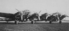 RARE, VERY RARE! A great shot of the He111-Z twins