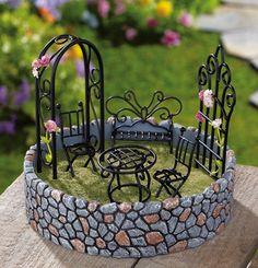 Beau Miniature Fairy Garden Outdoor Display