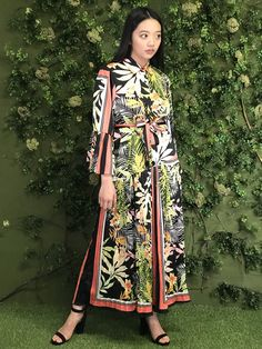 Cover up this season with a fun and edgy long sleeve floral print maxi.    #chloedao #chloedaoboutique #coverup #floralpring #springfashion2019 #summerfashion2019 #springstyle #maxidress #funfashion #edgystyle #fashionphotography #houstonfashion #houstontexas