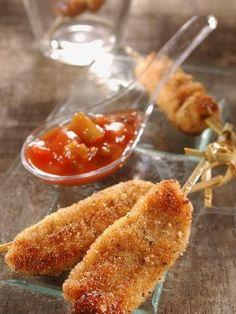 Nuggets de poulet et sa sauce piquante - Recette