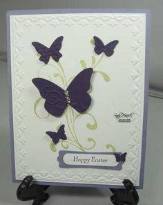 Butterflies Easter Card