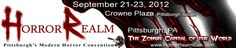 Horror Realm - September 21-23, 2012 at the Crowne Plaza Pittsburgh South