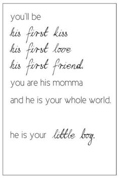 To my sweet little boys. No matter what other people say or think. Everything I've done for you has been for the best. As long as we know that that's all that matters! Cute Quotes, Great Quotes, Quotes To Live By, Inspirational Quotes, Quotes Pics, Motivational, The Words, Angelo Antonio, Mother Son Quotes