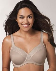 93be13f7d49 Playtex Secrets Undercover Slimming Shaping Underwire Bra Over the  Taupe 42B   Check out this great product.