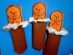 Προσχολική Παρεούλα : Σσσσσς ... τα ζωάκια κοιμούνται !!! Winter Crafts For Kids, Art For Kids, Tweety, Techno, Diy And Crafts, Kindergarten, Preschool, Snoopy, Holiday