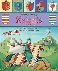 The Barefoot Book of Knights (Book & CD), John Matthews, Very Good Condition Boo