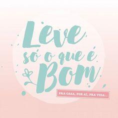 Por onde quer que vá!😉👌 👉Carry only what is good.👈 #Repost @uattoficial #bom #bem #good #leve # como sem #goodvibes #positivevibes #positividade #saúde #saudável #healthy #health #lifestyleblog #wellness #fitness #treino #frases😍 #quotes #instaphrases #instamood #013 #tips #dicas