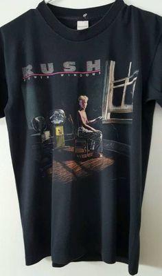 Rush Concert Shirt, Rush Power Windows T-shirt, 80s Tour Concert shirt by ResouledGypsy on Etsy