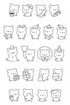 Paper Crafts For Kids, Diy For Kids, Free Coloring, Coloring Pages, Halloween Fonts, Cute Little Drawings, Kawaii Doodles, Cute Fonts, Christmas Drawing