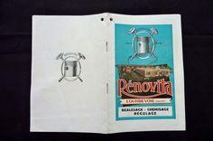 RENOVITA -Réalésage-Chemisage-Regulage  1932   REF 07 in Collections, Objets publicitaires, Publicités papier, Autos, tracteurs | eBay