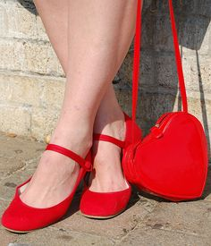 sweetheart red shoes