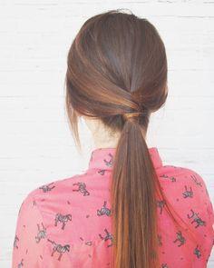 """Dzień dobry  kucyk nr 6 już na blogu  szybka fryzura w sam raz na leniwa niedzielę! Czeszecie? wyzwanie """"Tydzień z kucykiem - 7 fryzur w 7 dni"""" #fryzury #krokpokroku #blogowlosach #kucyk #wlosomaniaczka #fryzuromania #dlugiewlosy #wyzwanie #fryzurowe #hairart #hairselfie #hairblog #hairstyle #hair #fashion #hairstylist"""