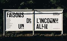 Wolff Olins agency. Lafayette Anticipations. Paris.