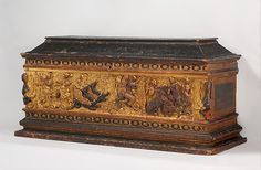 Marriage chest (cassone), ca. 1480–95. Italian, Florence or Lucca. The Metropolitan Museum of Art, New York. Rogers Fund, 1916 (16.155)