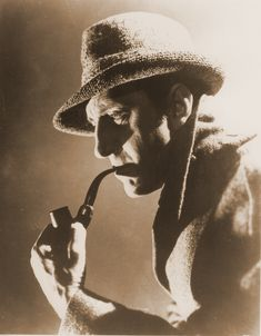 Basil Rathbone as Sherlock Holmes