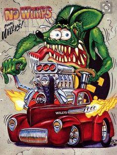 Willys Cartoon