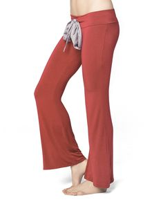 Ruched Pucker Pant - IntiMint  Cute Red lounge pants use code: ENTIRE50 for 50% off