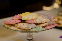 cookies at the bridal shower!