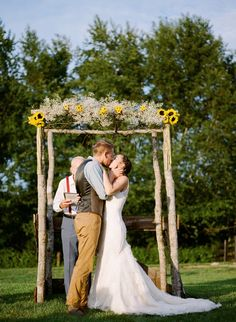 Homespun Antique Farm Wedding