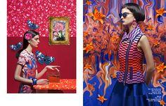 Left Gilet / Mila by Mila Schön Skirt / P.A.R.O.S.H. Sunglasses / Kenzo  Earings / Marina Fossati Right Dress / Zara  Clutch / Benedetta Bru...