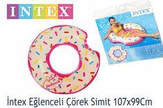 İntex Şişme Eğlenceli Çörek Can Simiti 107x99Cm