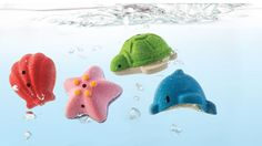 Sea Life Play Set by Plan Toys