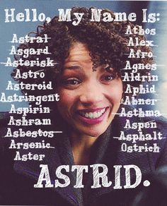 This is an Astrid Farnsworth appreciation post.