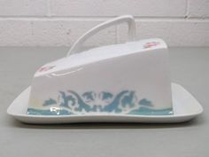 Covered Server Dish for Cheese Cake Bread circa. 1930s Fine China Home Decor Collectible Kitchen Gifts Wedding