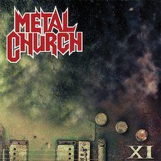 """Metal Church - la bonus track """"The Croward"""" in streaming!  XI, nuovo album uscito da un paio di mesi per la heavy metal band americana Metal Church e che vede nuovamente Mike Owe dietro ai microfoni"""