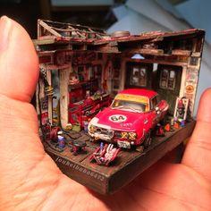 Resultado de imagem para 1:18 scale shadow box diorama
