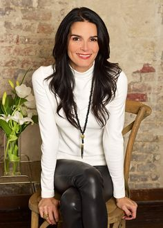 Today, we talk to Angie Harmon about her three favorite things, the launch of her jewelry collection with Red Earth and so much more! #angieharmon #rizzoli www.Styleblueprint.com