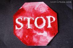 { Stop Sign Craft }