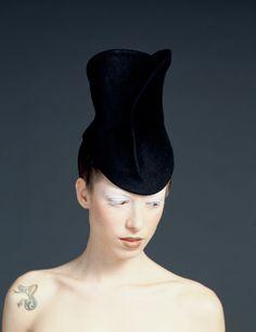 Hat by Aziz Bekkaoui