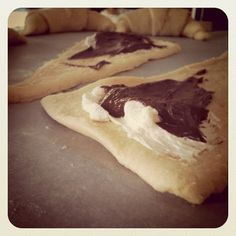 LIFE IS SWEET: Nutella & Cream Cheese Crescent Rolls