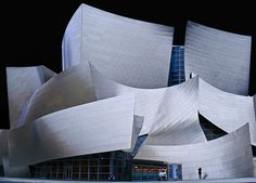 Disney Concert Hall + Photographer   Flickr - Photo Sharing!