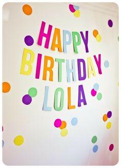 58 Ideas for birthday banner kids party ideas Trolls Birthday Party, First Birthday Parties, Birthday Party Themes, First Birthdays, Ideas For Birthday Party, Troll Party, Birthday Celebration, Polka Dot Birthday, Polka Dot Party
