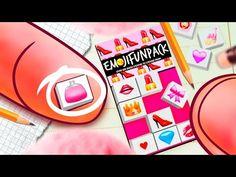 DIY Miniature 3D Emoji Cute Stickers for Dolls ✕ MADKIT - YouTube