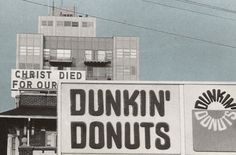 """""""Christ died for our Dunkin' Donuts"""" Atlantic City, NJ"""