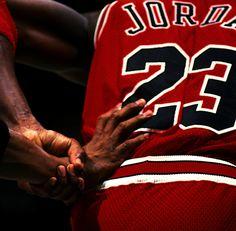 Hand-checking air. #basketball #jordan