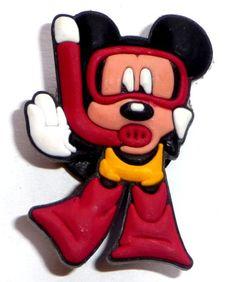 Mickey Mouse JIBBITZ Crocs Hole Bracelet Shoe Charm