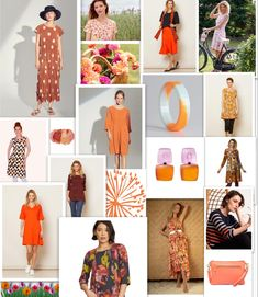 Oransje sies å være gledens og energiene farge 🧡 Det er også Sophies farge 💥 Mest fordi det er entusiasmen og nytelsens farge, men også fordi det er fargen for jenter som tør å skille seg ut 😉 Det sies også at oransje stimulerer til aktivitet, og at mennesker som bruker oransje er mer kreative, engasjerte og driftige.  Oransje finnes i et utall nyanser, fra pasteller til de nesten selvlysende skarpe og klare. Vi tror derfor det finnes en variant for de aller fleste av oss. Polyvore, Image, Fashion, Pastel, Creative, Moda, La Mode, Fasion, Fashion Models
