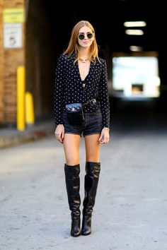 Belted & booted: Chiara Ferragni shows how it's done