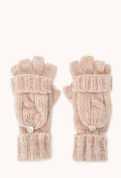 Standout Fingerless Gloves w/ Mittens | FOREVER21 - 2000128608