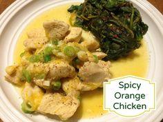 spicy orange chicken