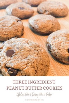 Best Paleo Cookie Recipe Easy! 1 cup peanut butter 1 cup coconut sugar 1 egg **Optional – ½ cup stevia sweetened chocolate chips EASY HEALTHY PEANUT BUTTER COOKIES 3 ingredients gluten free #healthy #peanutbuttercookies #vegan #3ingredients #glutenfree #paleo #crunchy #easy #coconutsugar Paleo Peanut Butter Cookies, Paleo Cookie Recipe, Paleo Cookies, Easy Cookie Recipes, Fun Recipes, 1 Egg, Paleo Dessert, Coconut Sugar, Chocolate Chips