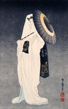 Spirit of the Heron Maiden (Shirasagi no sei 白鷺の舞)