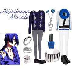 Hijirikawa Masato from Uta no Prince-sama Maji Love 1000% - inspired outfit by Polyvore