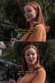 Bree Van de Kamp/Hodge My favourite because she's so clever and sarcastic.