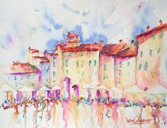 veredit - art©: Piazza dell'Anfiteatro - Lucca