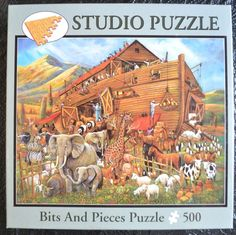 Jigsaw Puzzle 500 Pcs Complete After the Flood Noah's Ark Manning Bits & Pieces in Toys & Hobbies, Puzzles, Contemporary Puzzles | eBay